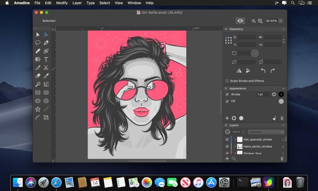 Amadine 1.0.4/矢量绘图新利器/MAC版插图(1)