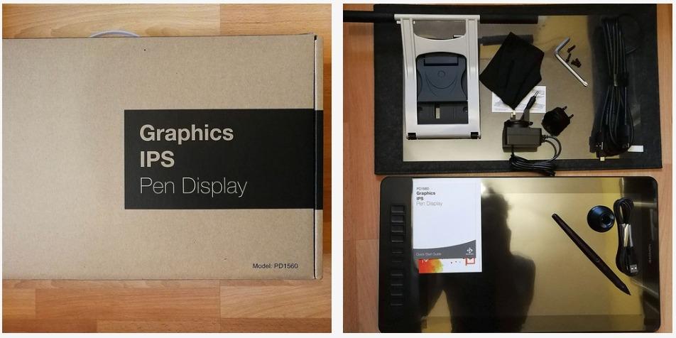 PD1560 Pen Display 绘图板评测插图(1)