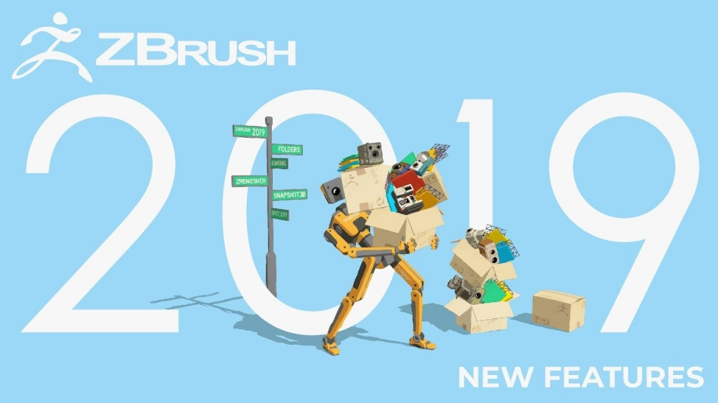 3D雕刻大师ZBrush 2019 – WIN/MAC 最新PJ版插图