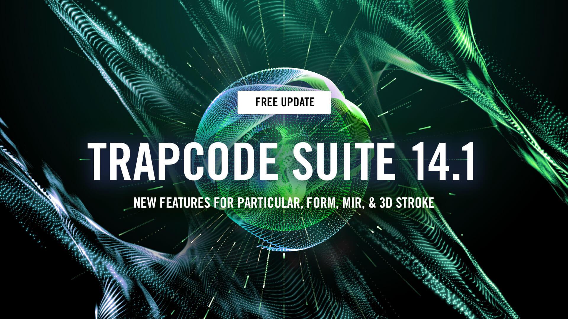 Red Giant Trapcode Suite 15.1.3 – AE必装插件红巨星粒子套装插图(1)