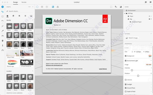 Adobe Dimension CC 2018中文破解版插图