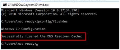 Windows/Mac/Linux如何清除/刷新DNS缓存?插图4