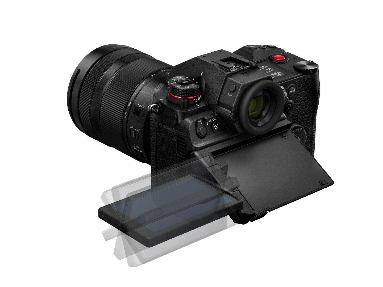 松下 Lumix S1H 是一款能 6K 录影的全画幅无反机插图