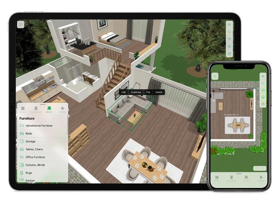 planner5d formac/为家居设计业余爱好者打造的软件