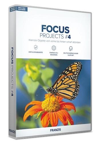 FOCUS Projects 4 – 图像特效处理软件[Windows]