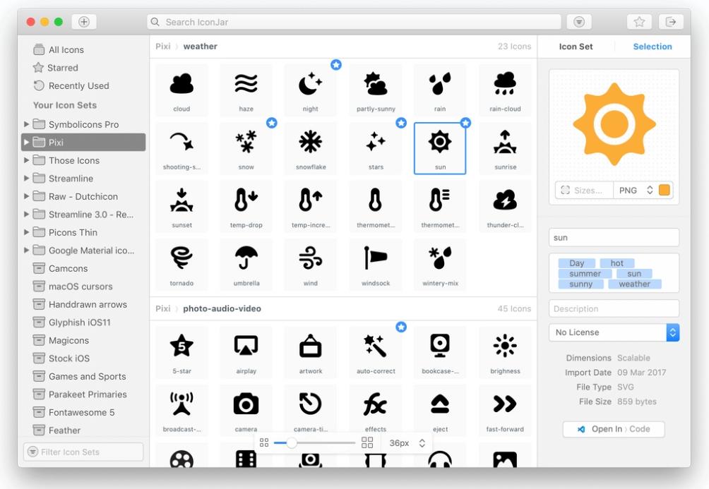 IconJar2-一种更好的图标管理软件插图2