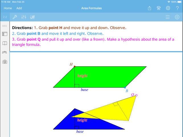 TI-Nspire™ iPad上最强大的计算器-限免中插图(3)
