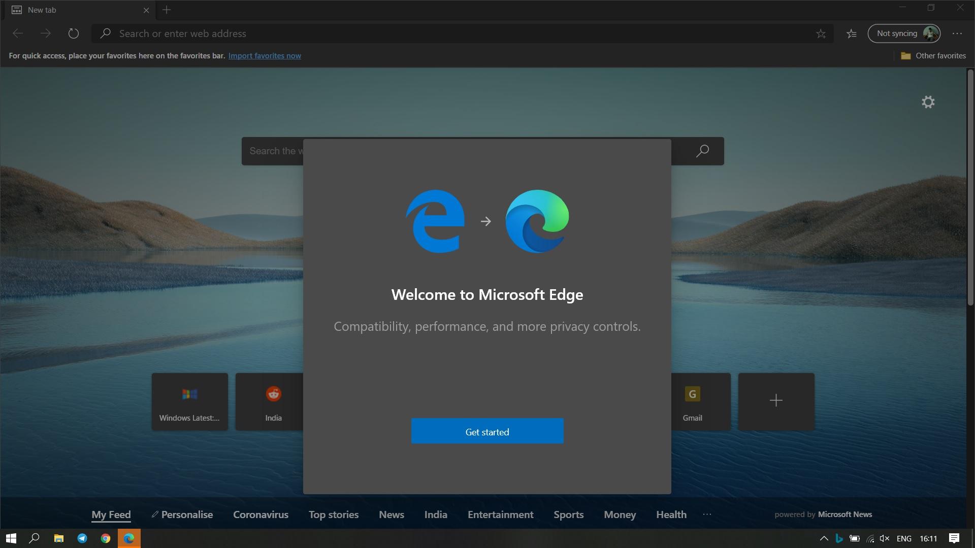 New-Microsoft-Edge
